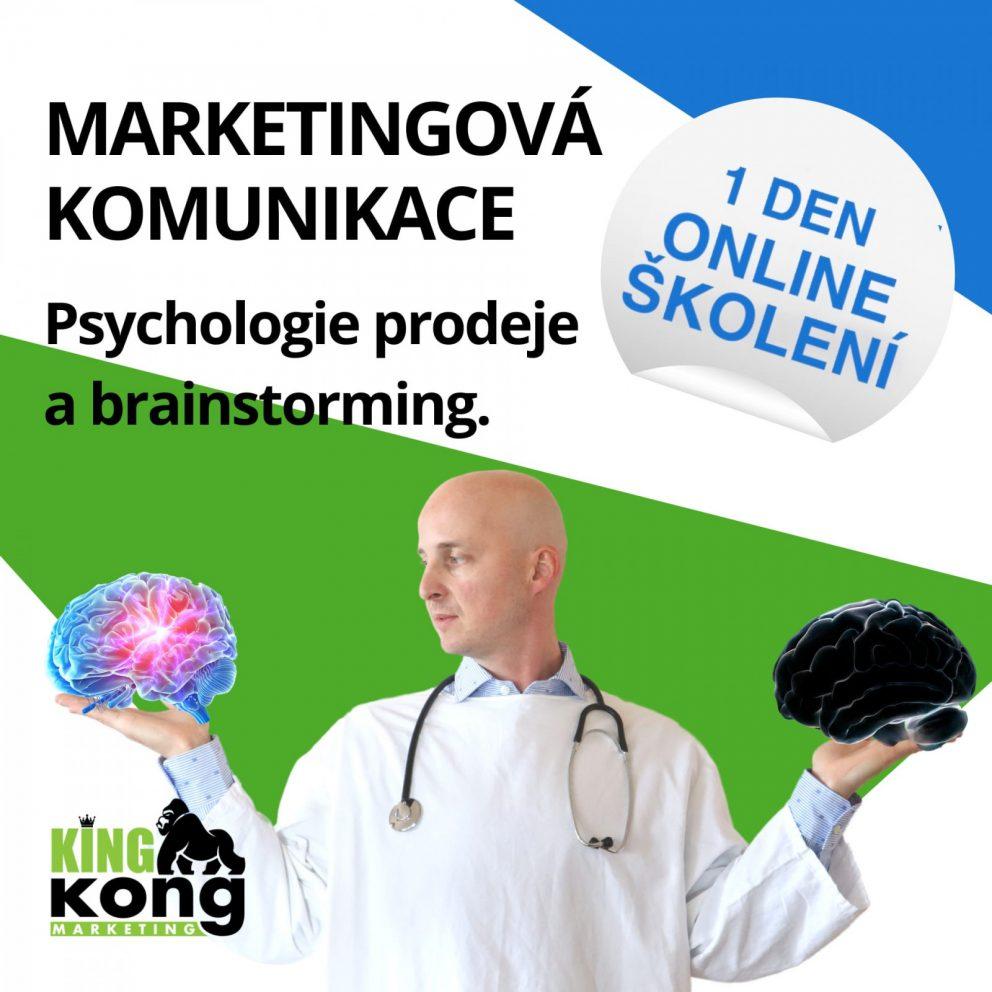 Školení marketingová komunikace: Psychologie prodeje a brainstorming